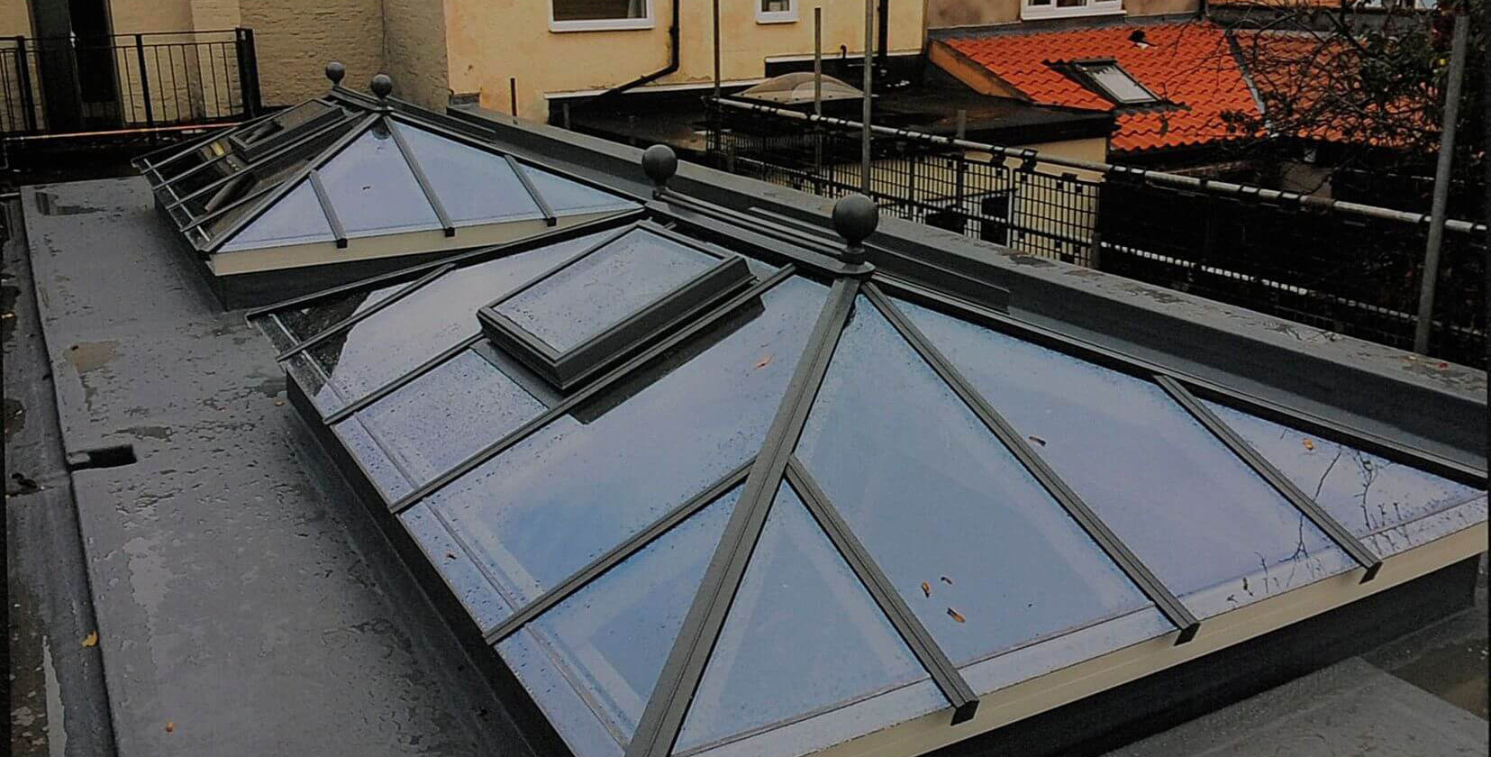 The Most Suitable Lantern Skylights For Flat Roofs Prestige